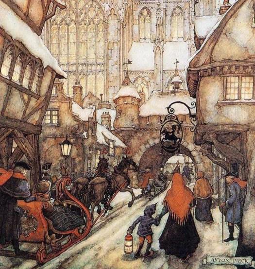 Anton Franciscus Pieck (19 April 1895 – 24 November 1987) sleigh