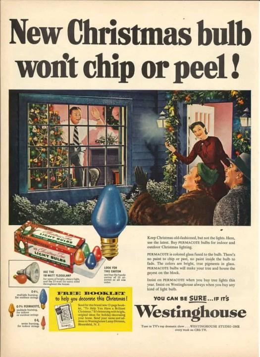 Christmas Home Lighting Westinghouse advertisement