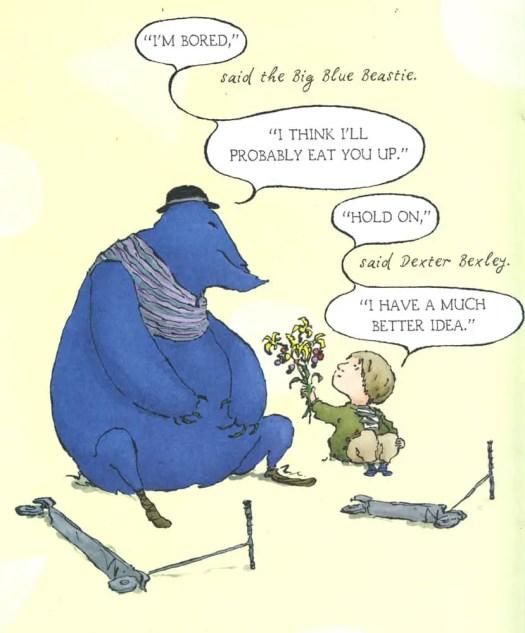 Dexter Bexley and the Big Blue Beastie by Joel Stewart
