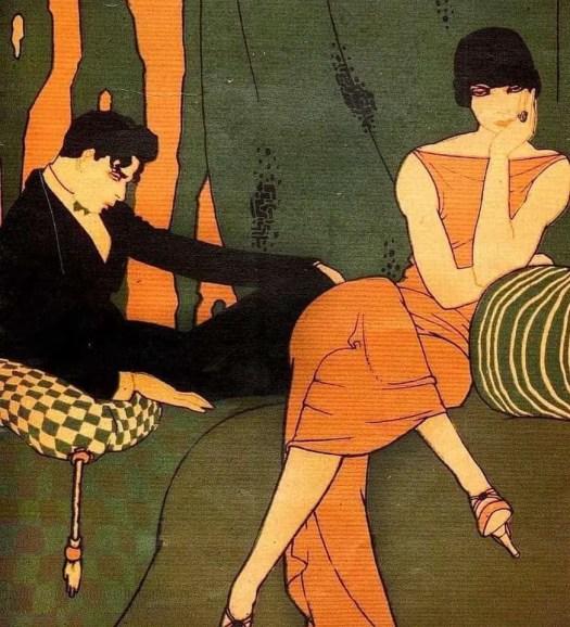 Ernesto Garcia Cabral (Mexico, 1890-1968) orange green