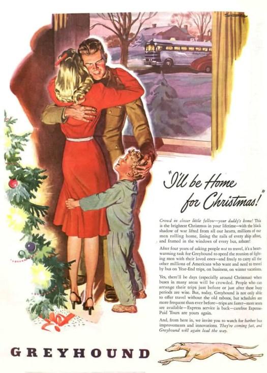 Greyhound Bus Advertisement
