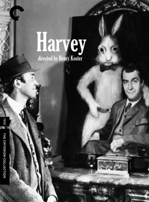 Harvey DVD cover rabbit mirror