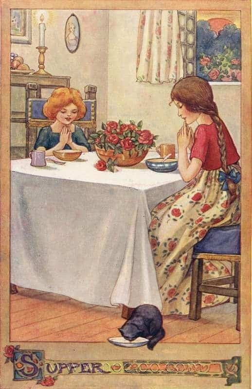 Illustrations by Anne Anderson, for Rosie-Posie book. First published in 1911 by Thomas Nelson & Sons, London
