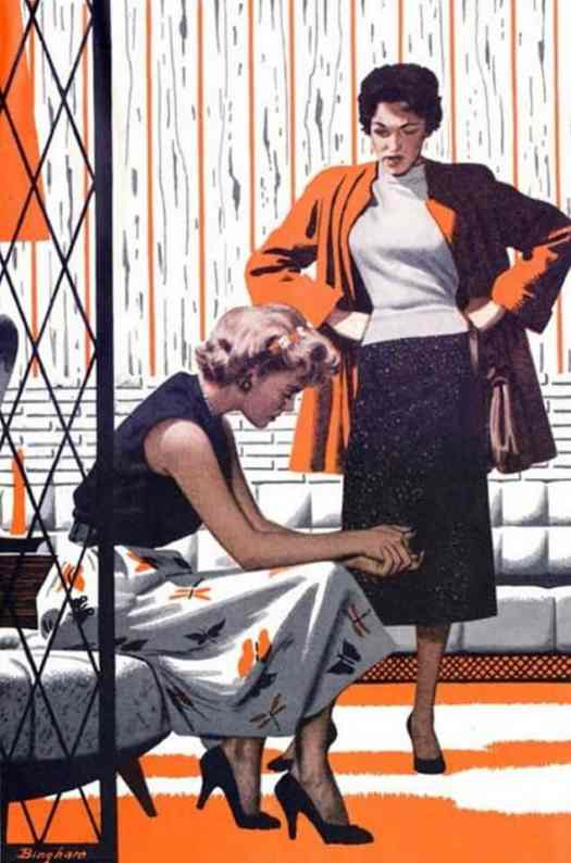 JAMES BINGHAM Perry Mason - Saturday Evening Post - 1960