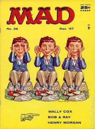 Mad Magazine Hear no evil