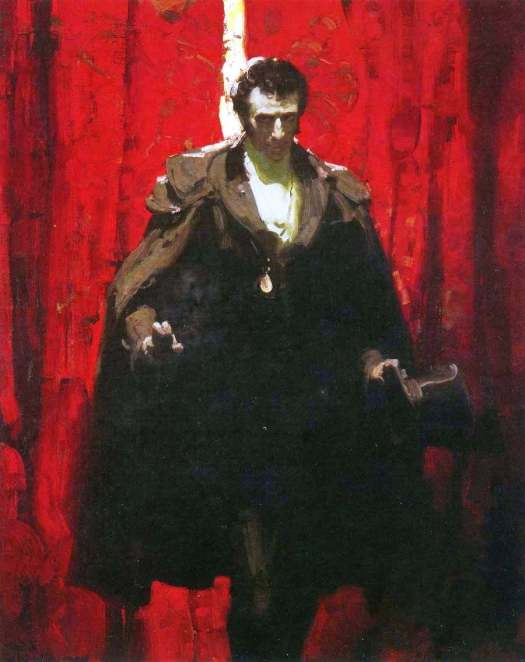 Mead Schaeffer (1898 - 1980) ominous face