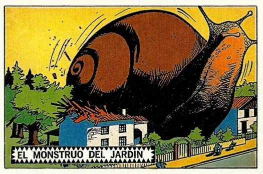 PLATOS VOLADORES AL ATAQUE! (1971) Alberto Breccia giant snail