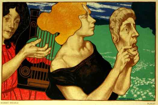 "Robert Engels (1866-1926), ""Das Plakat"", Vol. 8, May 1917 mask"