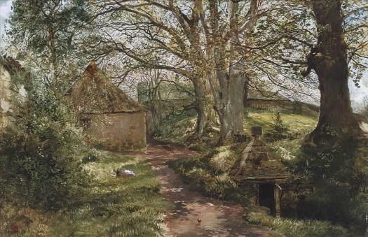 Samuel Bough - At Barncluith, Hamilton 1854