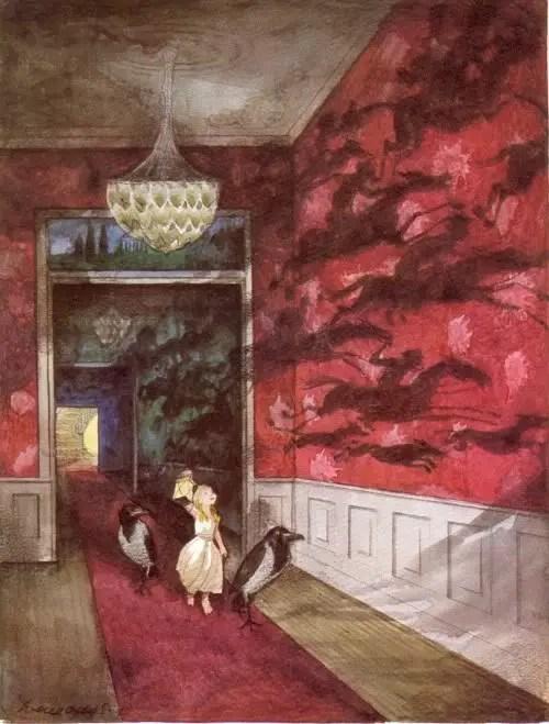 Svend Otto - The Snow Queen shadows