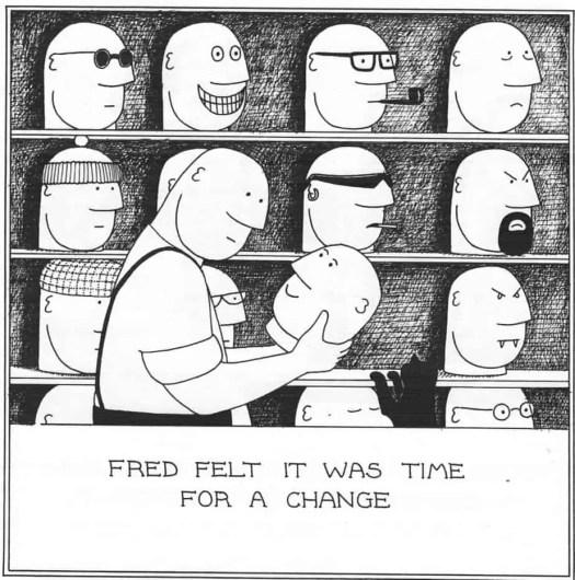 The Best Of Fred by Rupert Fawcett, Headline Book Publishing, London 1998