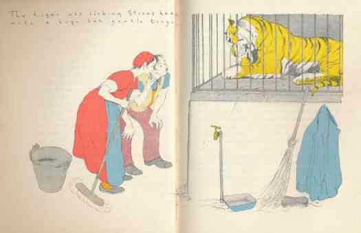 'The Yellow Cat' By Mary Grigs, Illustrated By Isobel and John Morton Sale (Humphrey Milford, Oxford UP, London, New York, Toronto 1936 - this edition 1946