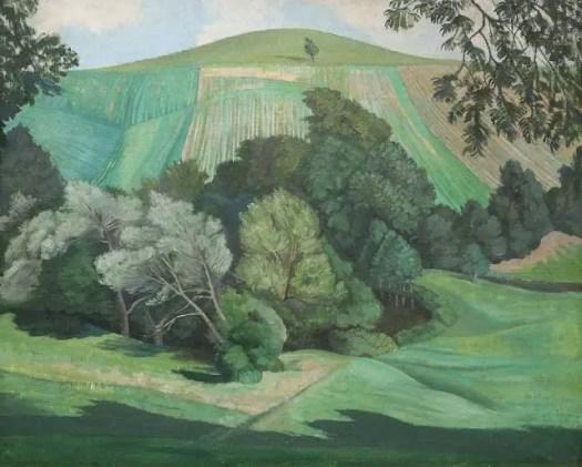 Nash, John Northcote; Dorset Landscape