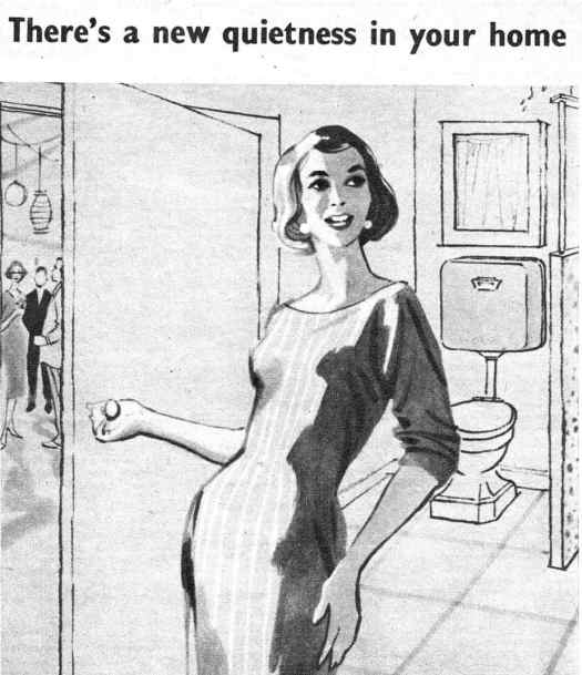 From 'Woman's Day with Woman' May 23, 1960. There's a new quietness in your home