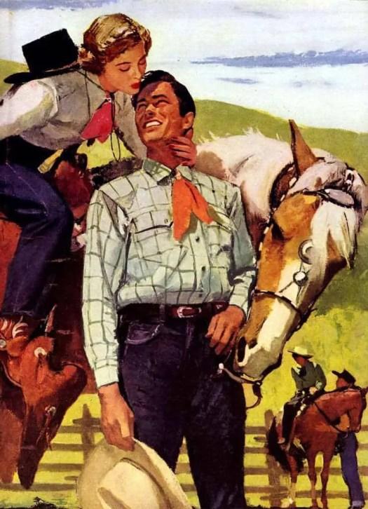 Pruett Carter (1891-1955) cowboy