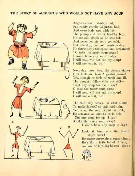 Slovenly Peter, or, Cheerful stories and funny pictures for good little folks illustrated by Hoffman Heinrich