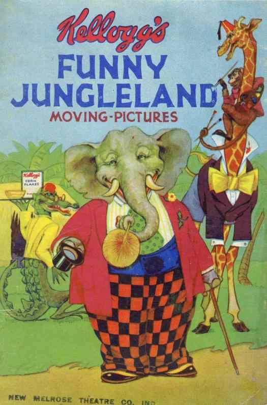 Transformation booklets were issued from the Kellogg Company given in the store when one bought a Kellogg cereal box elephant