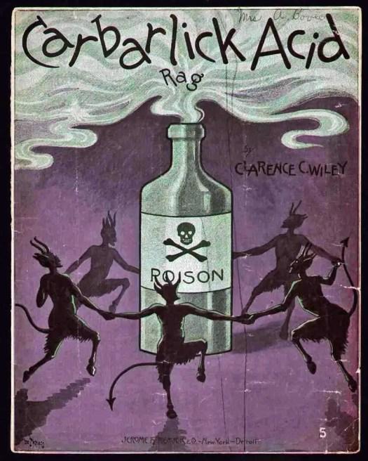 Carbarlick Acid Rag, by C C Wiley (1904)