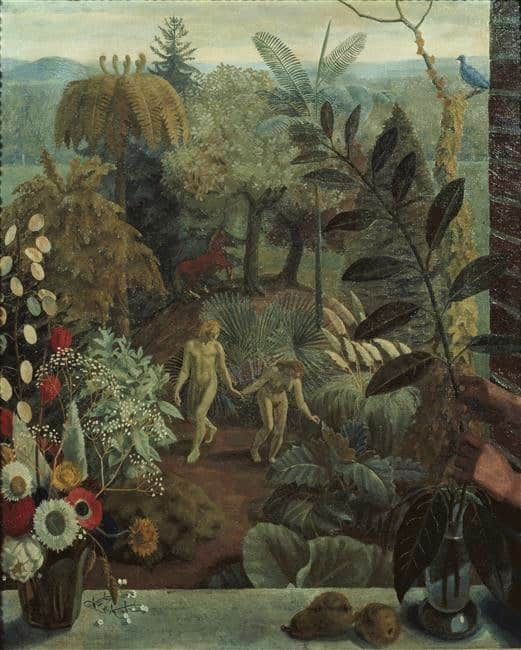 Garden of Eden painting by Charles Mahoney