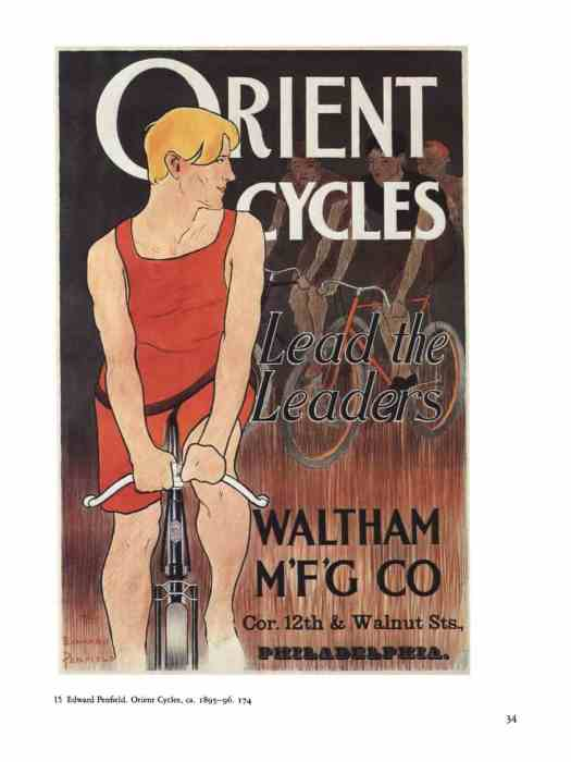 Edward Penfield (1866 – 1925) 1895 Orient Cycles