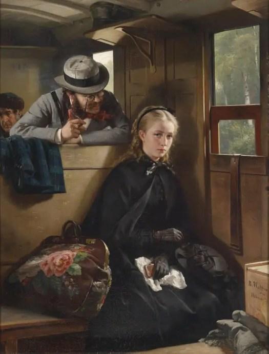 The Irritating Gentleman, by German painter Berthold Woltze (1874)