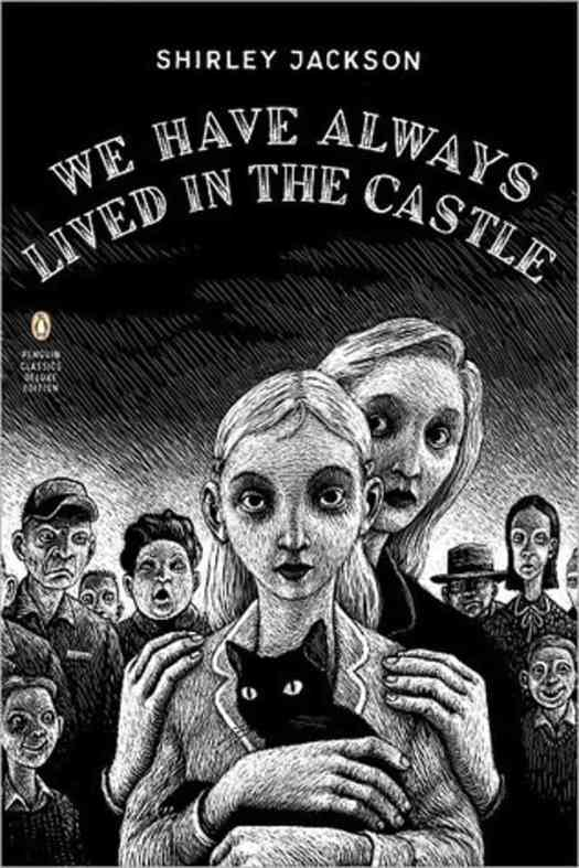 We Have Always Lived In The Castle girl with cat