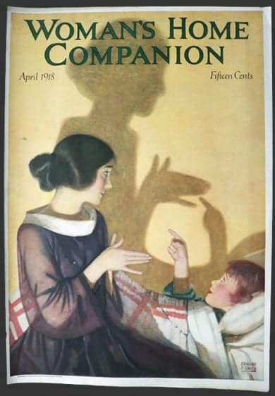 Art by Edward F. Smith for Woman's Home Companion April 1918