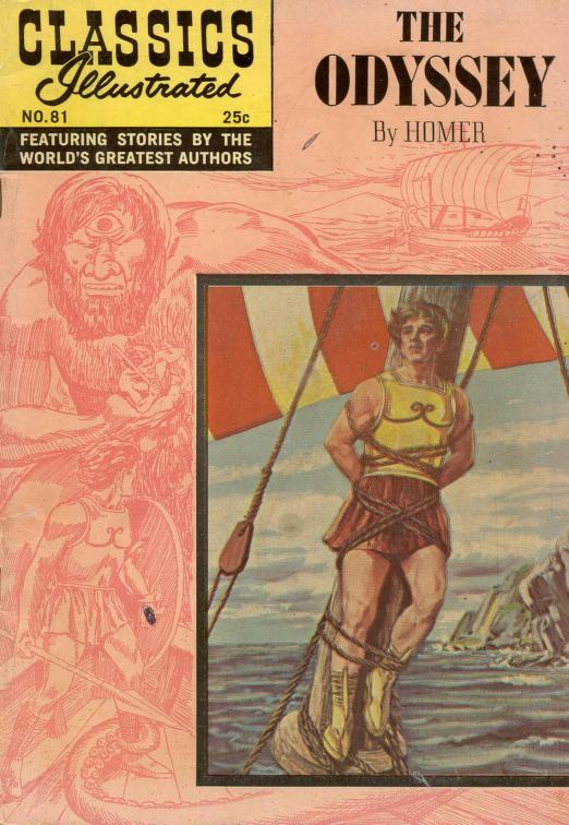 Classics Illustrated The Odyssey