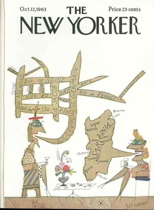 Cover by Saul Steinberg, 1963