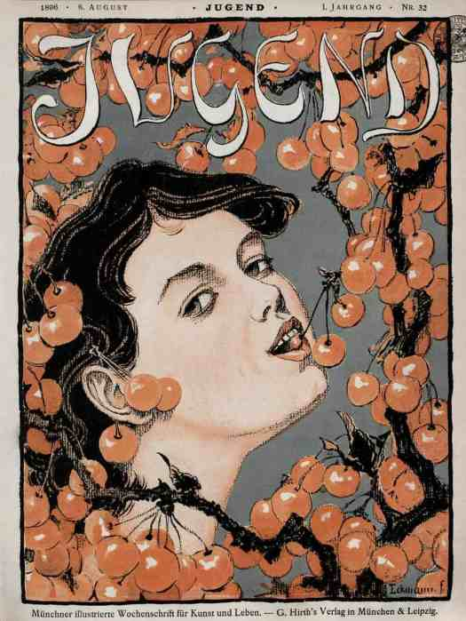 Cover of Jugend by Otto Eckmann (1896)