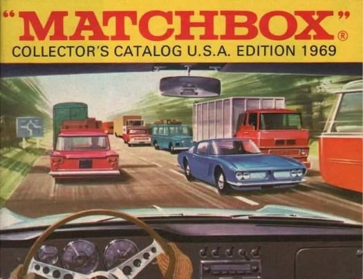 Matchbox USA Catalog 1969