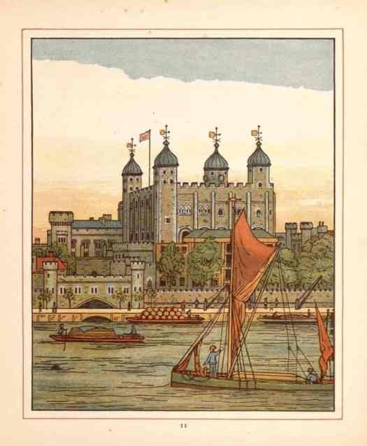 Walter Crane 1845 - 1915 The River Thames 1883