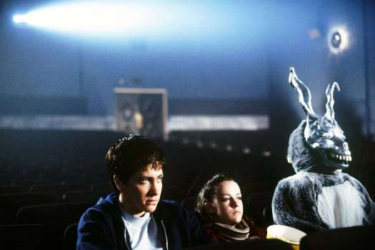 Donnie Darko, Gretchen and Frank at the movies
