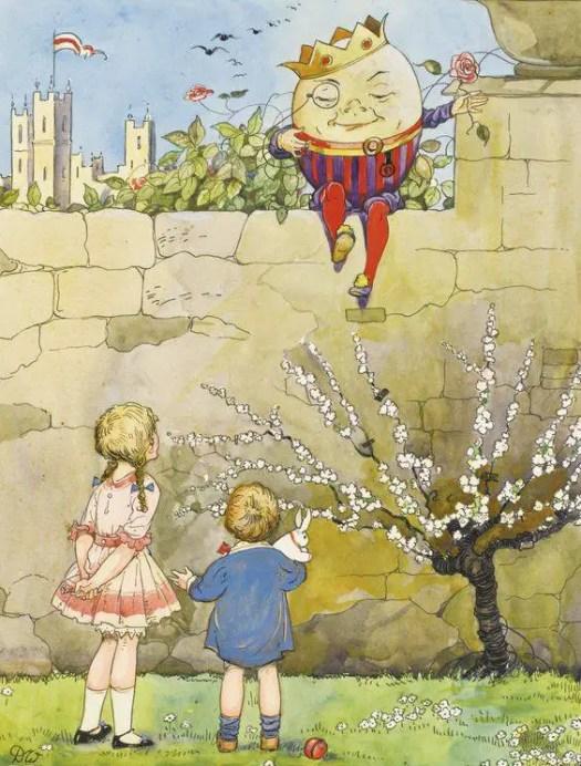 Dorothy Muriel Wheeler (1891–1966) Humpty Dumpty