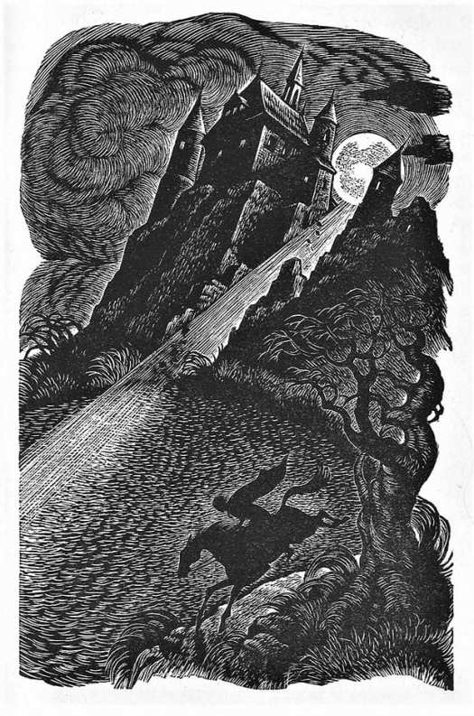 Edgar Allan Poe, The Fall of the House of Usher, Illustrations by Fritz Eichenberg, 1944