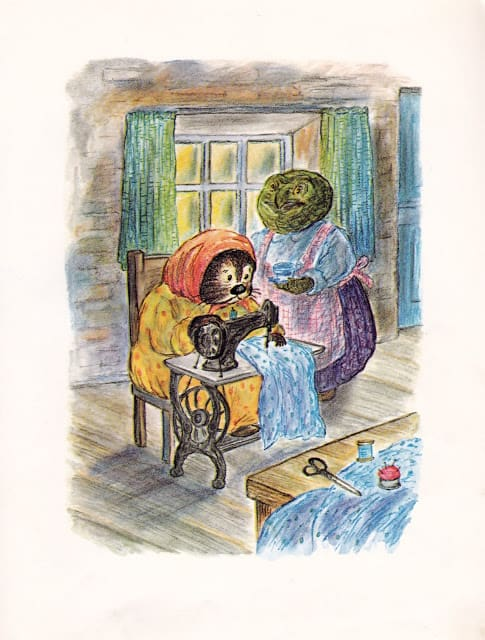 Emmet Otter's Jug-Band Christmas by Russell Hoban, illustrated by Lillian Hoban (1971)