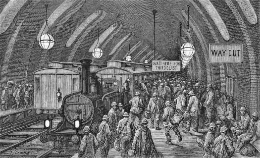 London, a pilgrimage, Gustave Doré, 1869