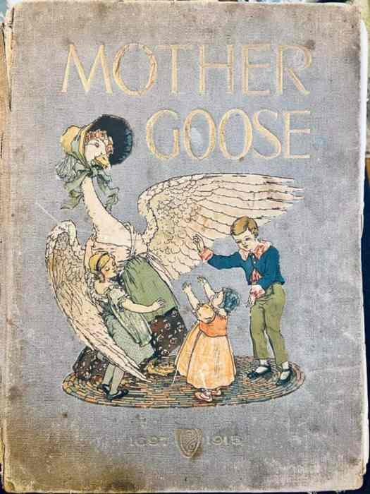 Mother Goose book, published in 1915 with illustrations by Frederick Richardson