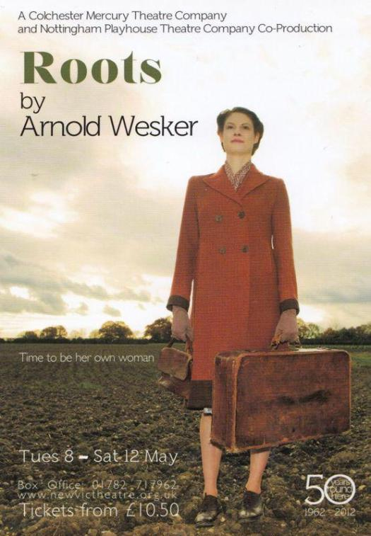 Roots by Arnold Wesker Colchester Mercury Theatre Company