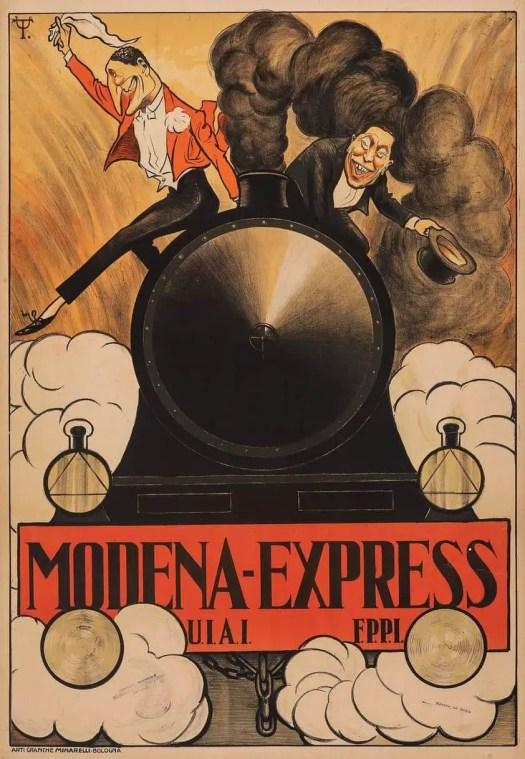 Umberto Tirelli Modena Express 1908