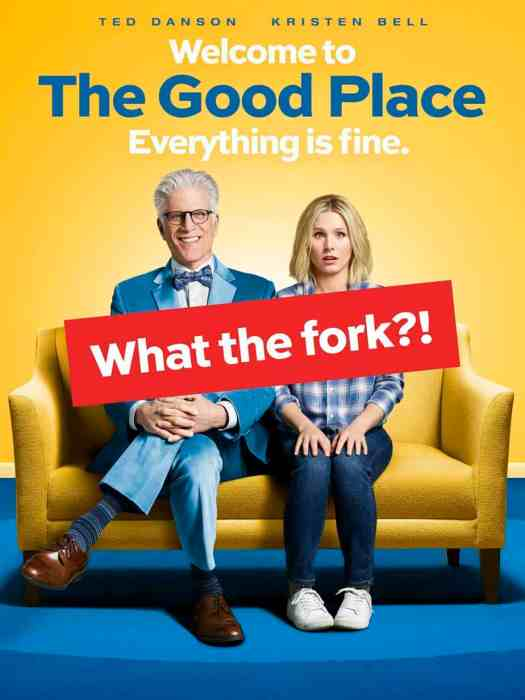 Welcome To The Good Place Everything Is Fine What The Fork