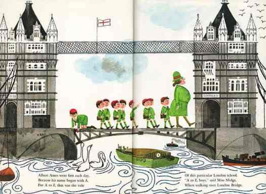 'The Story of Zachary Zween' 1967 written by Mabel Watts illustrated by Marylin Hafner (1925-2008)