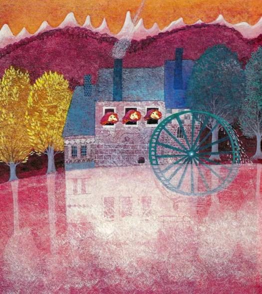 ACHTER DE BERGEN (1979) Lilo Fromm water wheel