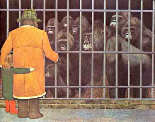 Gorilla by Anthony Browne zoo