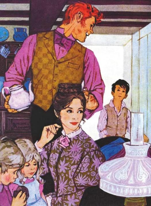 MICHAEL LEONARD - Woman's Journal - 1962 Source- Lifestyle illustration of the 50's