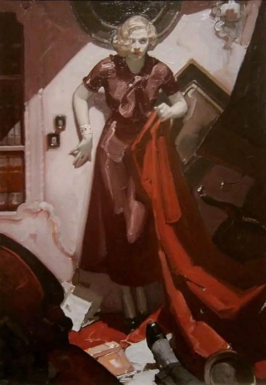 Mead Schaeffer Hide the body Cosmopolitan, 1933