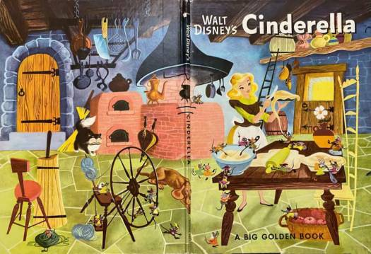 Retta Scott Worcester, Walt Disney's Cinderella. What's interesting in this illustration is that even the chair looks like a ladder.