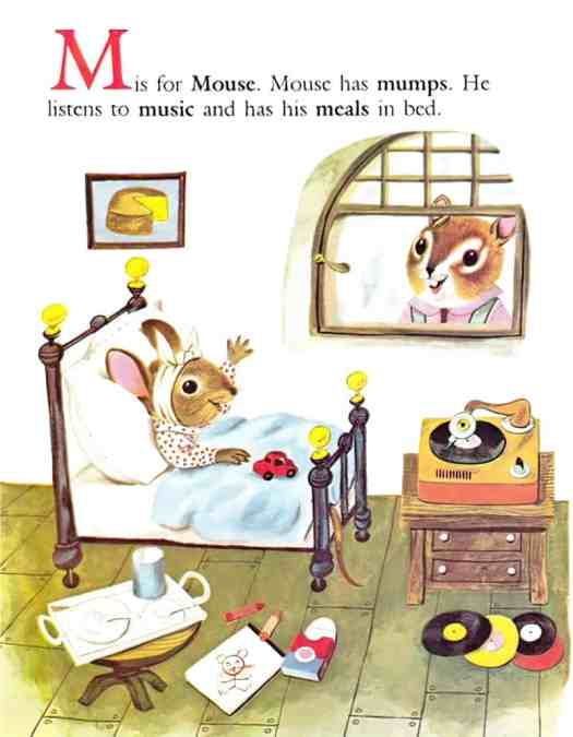 Richard Scarry's Chipmunk's ABC by Roberta Miller, illustrated by Richard Scarry (1963)