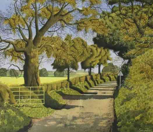 Saturday Lunch Time, watercolour, ink and gouche by Simon Palmer