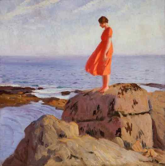Laura Knight 'A Dark Pool' 1918